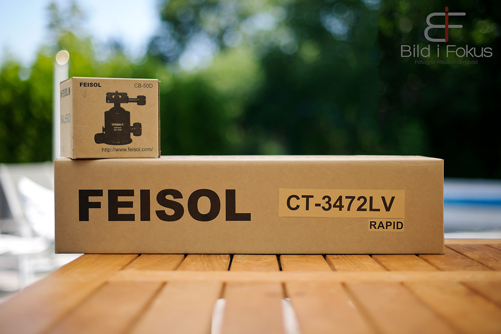 Feisol CT-3472LV and CB-50D